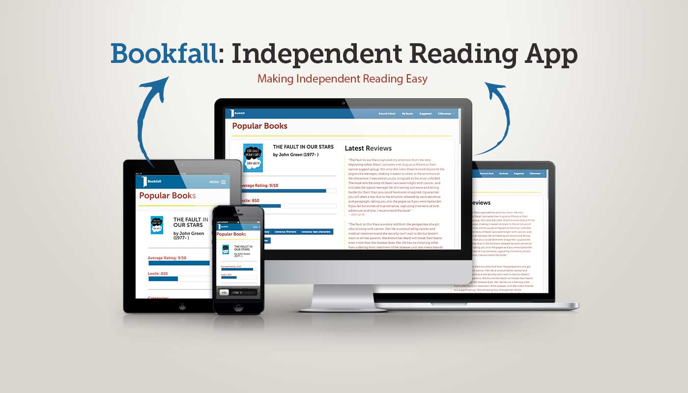 Bookfall Responsive Design