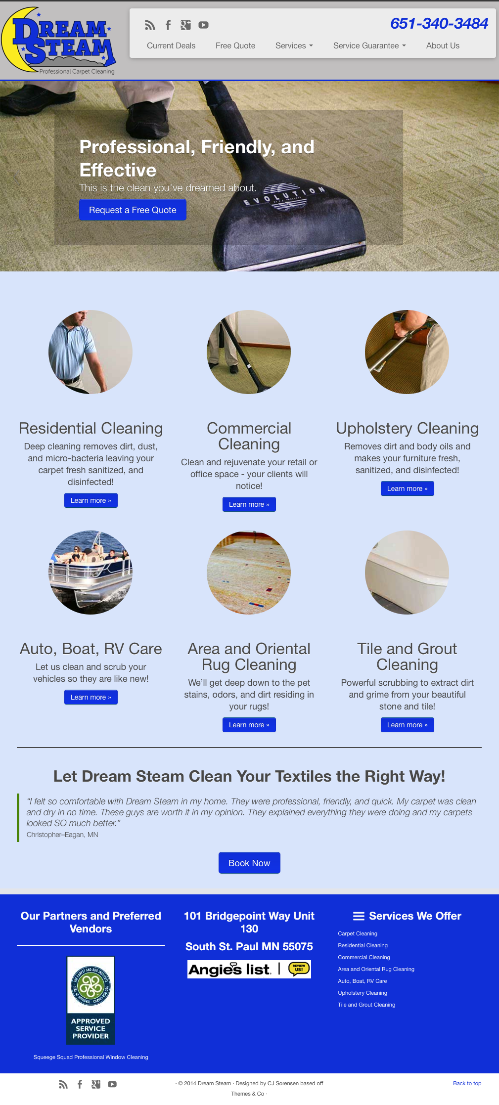 Dream Steam Carpet Cleaning